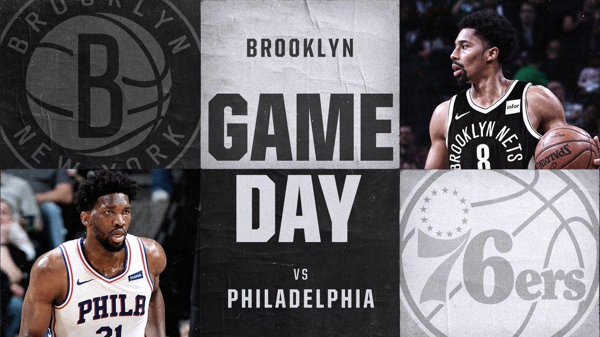 Brooklyn Nets vs. Philadelphia 76ers 1-31-18 Graphic