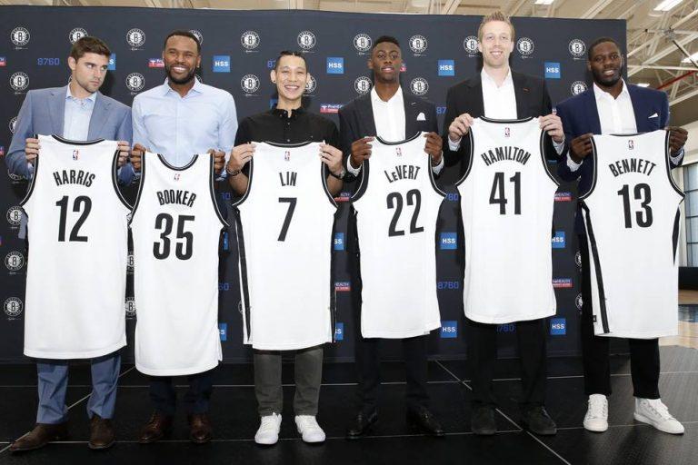Brooklyn Nets Press Conference July 2016