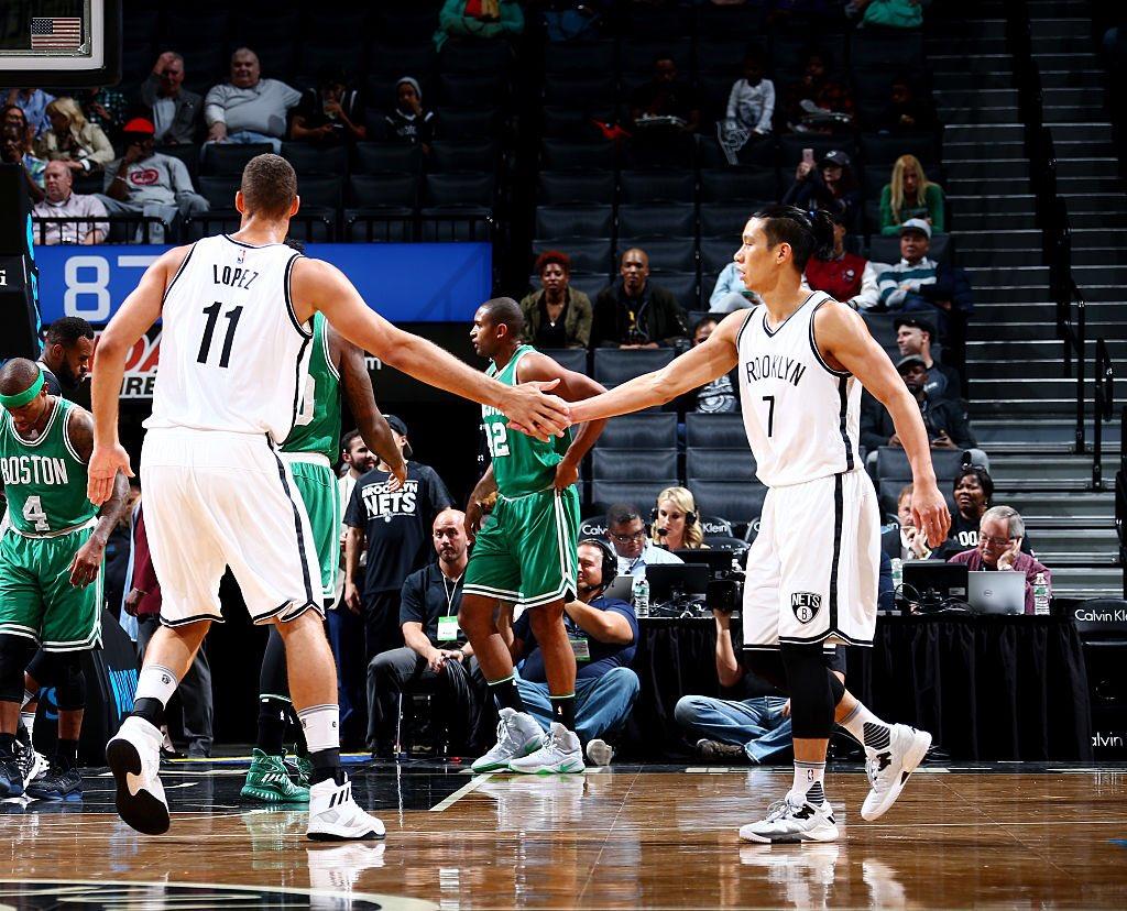 Brook Lopez & Jeremy Lin