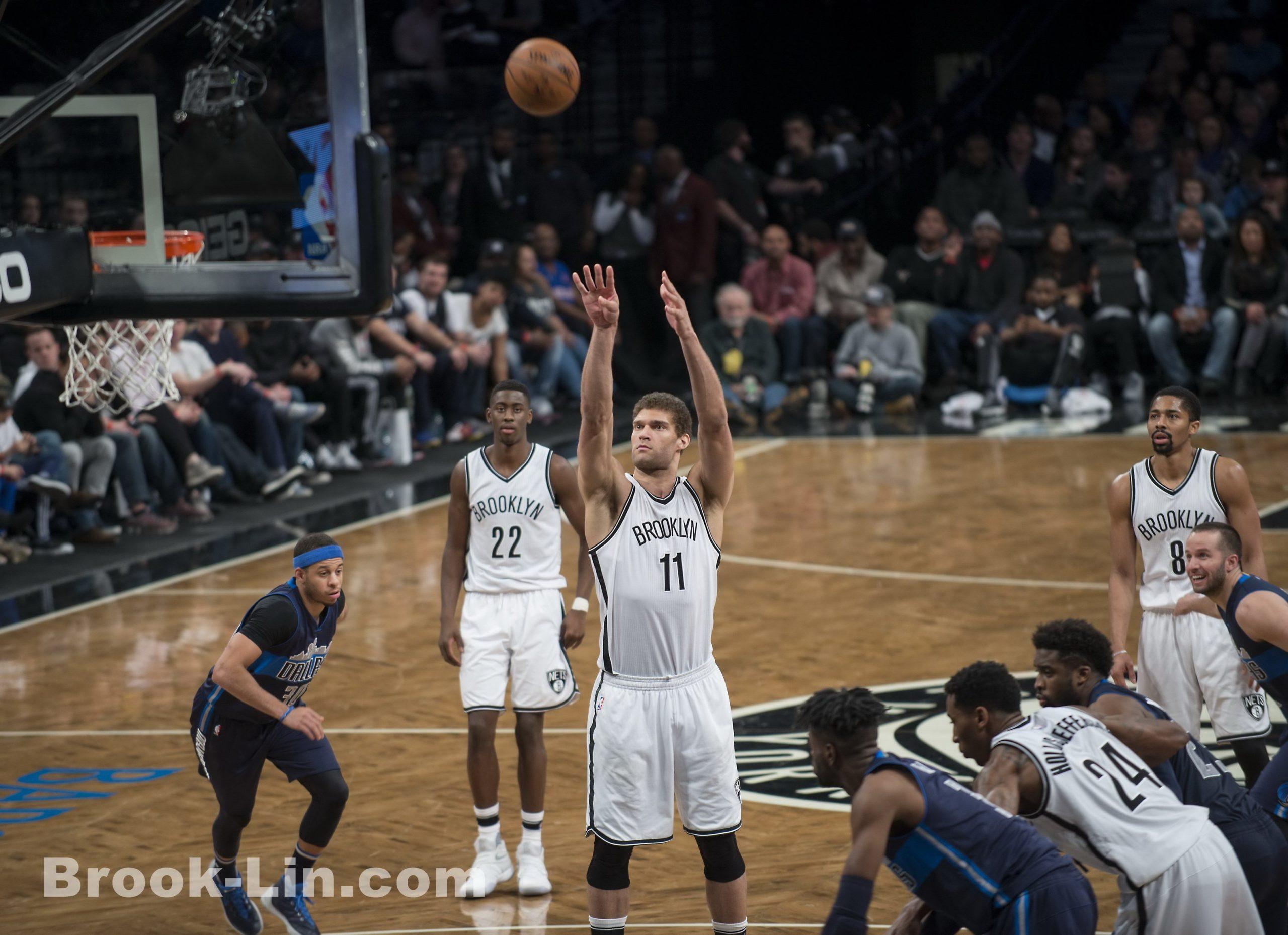 Brook Lopez - Brooklyn Nets vs Dallas Mavericks 3/19/17