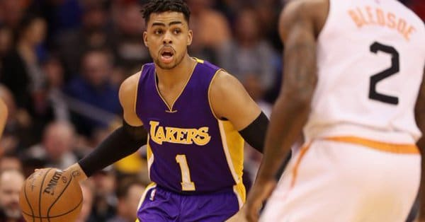 b7d8dcb67 Brooklyn Nets Acquire D Angelo Russell For Brook Lopez