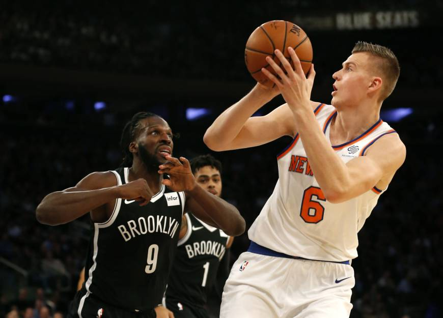 86b779414fe7 Brooklyn Nets at New York Knicks Notes and Observations  10-27-17