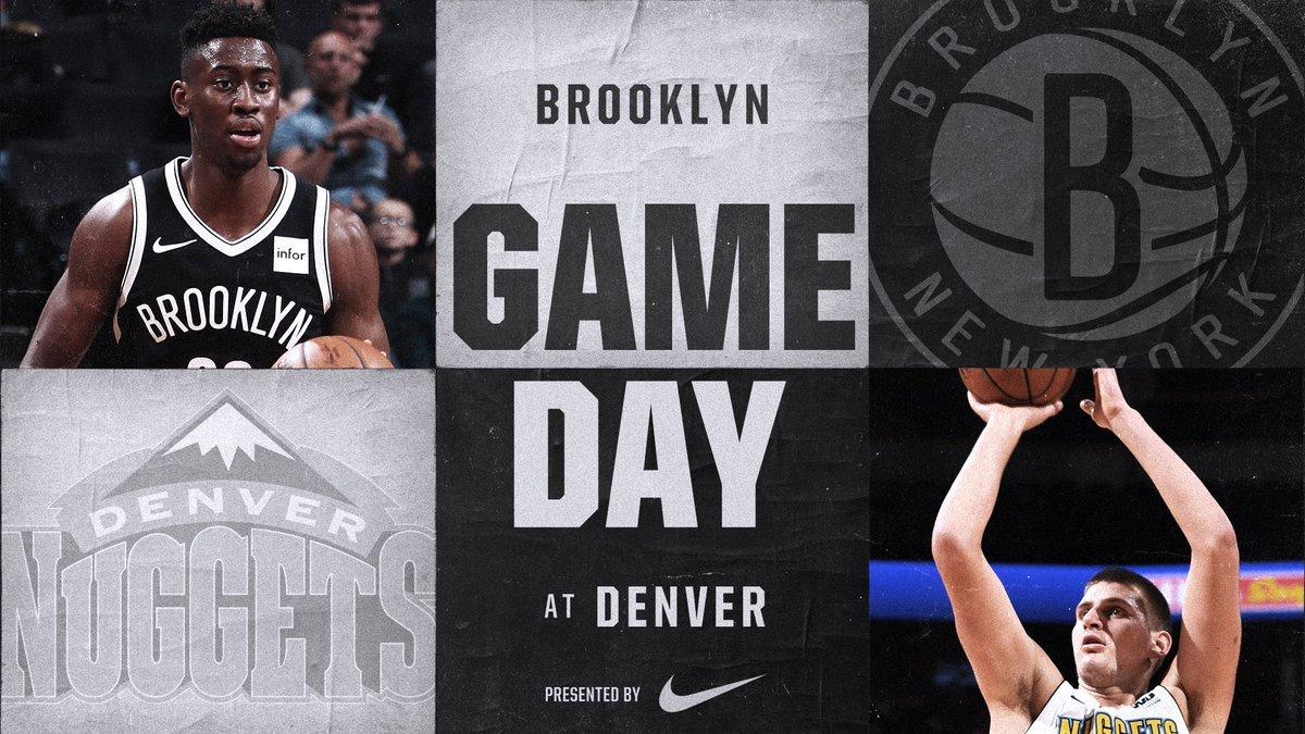 Nets vs Nuggets 11-7-17