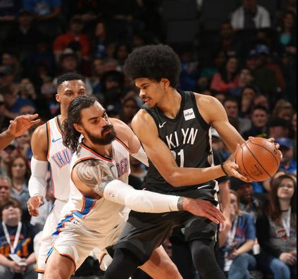 Brooklyn Nets at Oklahoma City Thunder feature image post game1-23-18.JPG