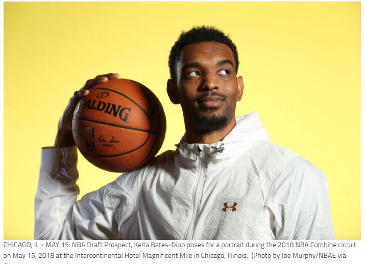 NBA Draft Keita Bates-Diop