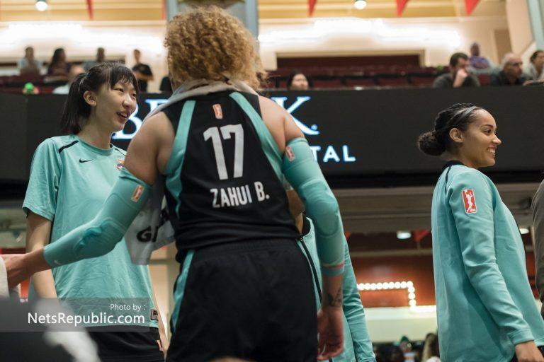 Han Xu, Amanda Zahui B, Nayo Raincock-Ekunwe
