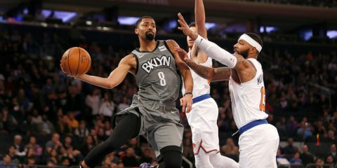 Spencer Dinwiddie taking down the knicks